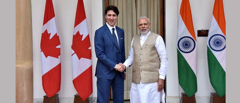 (File) Canadian PM Justin Trudeau and PM Narendra Modi