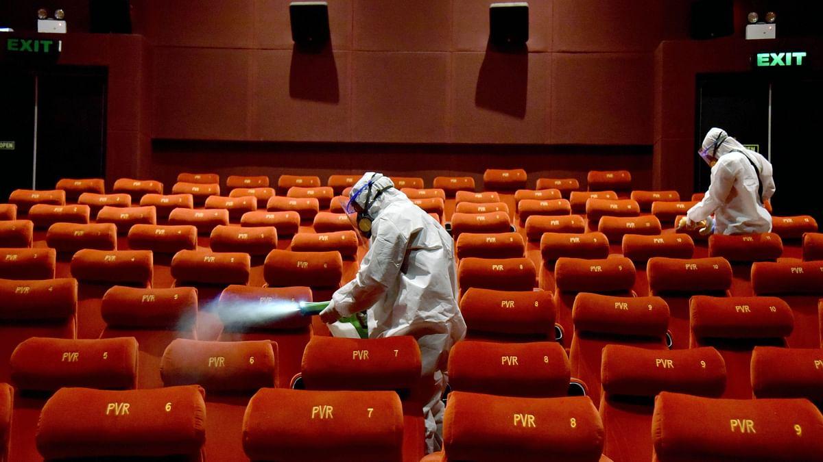 Alternate seats, masks, packaged food: Centre's SOP for cinema halls
