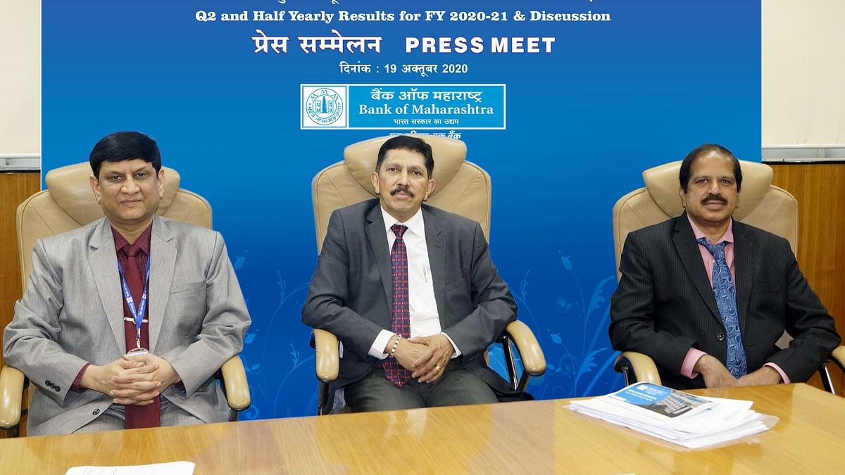 Bank of Maharashtra Q2 profit rises 13%