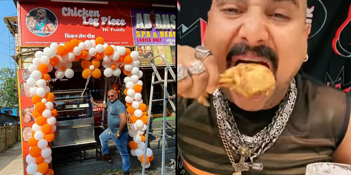 Remember TikTok star 'Chicken Leg Piece' guy? He now runs a chicken shop in Mumbai's Ghatkopar
