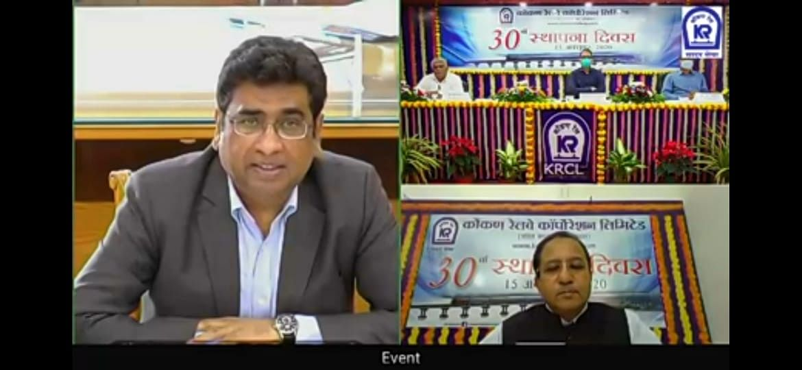 Konkan Railway celebrates 30th Foundation Day
