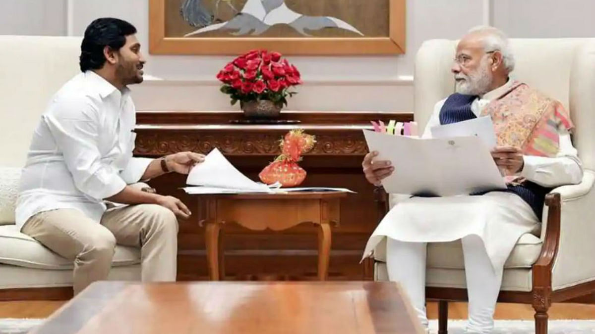 Andhra CM Jagan Mohan Reddy meets PM Modi, discusses pending state issues