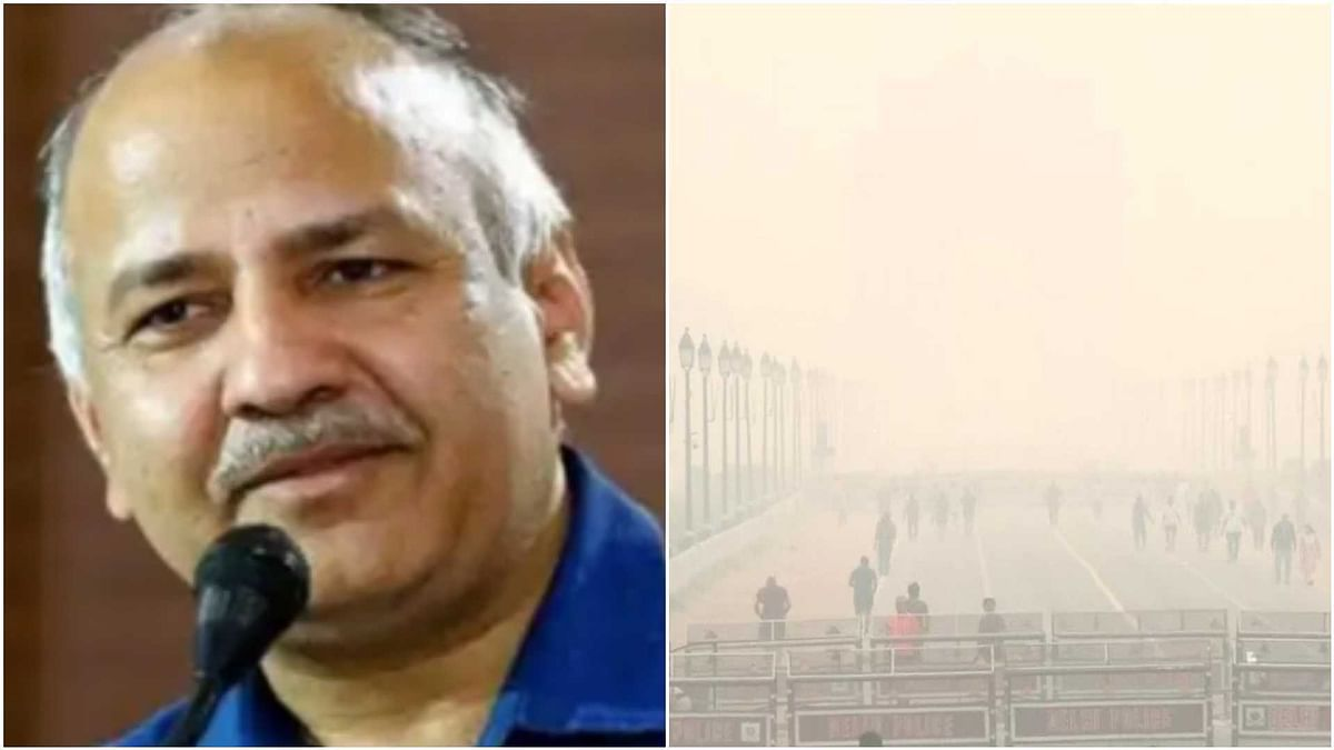 Centre has completely failed to save North India from pollution: Delhi Deputy CM Manish Sisodia