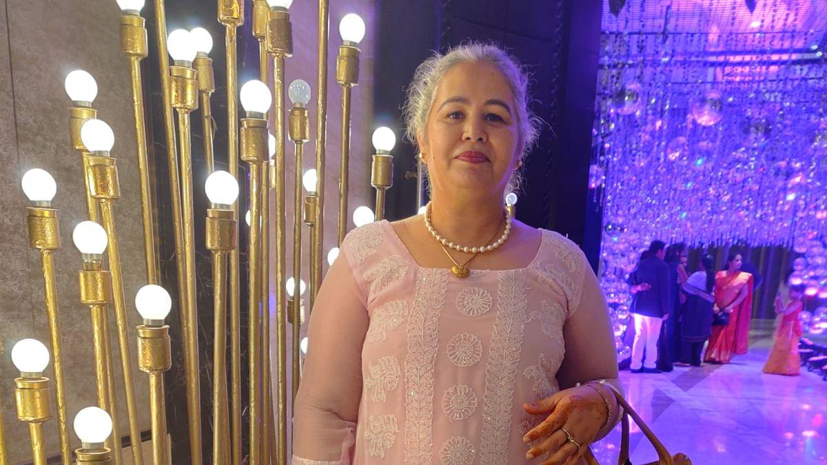 Karan Shroff's mother Jyothi Shroff