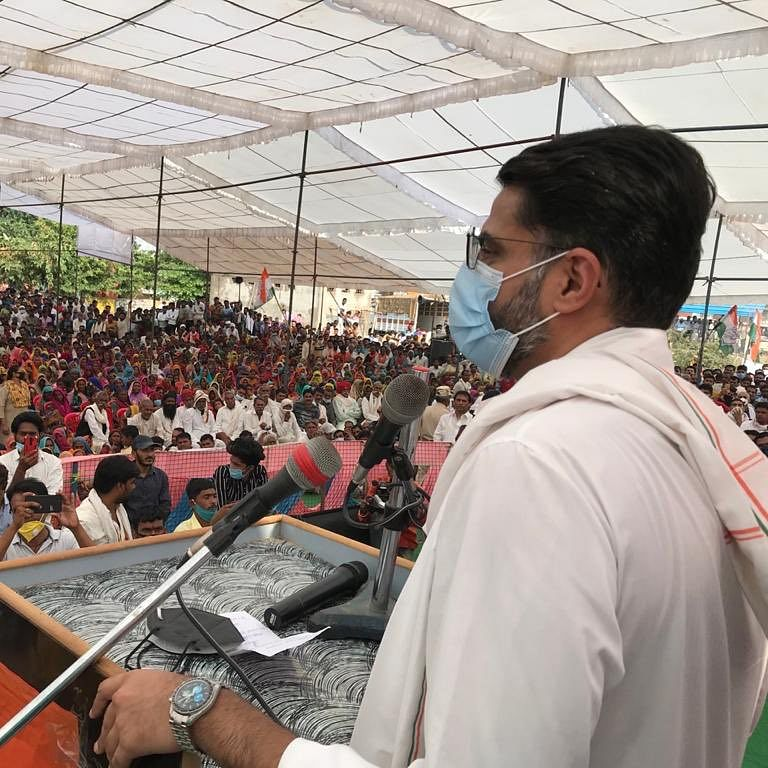 MP Bypolls: I welcome Sachin Pilot in MP, says Jyotiraditya Scindia