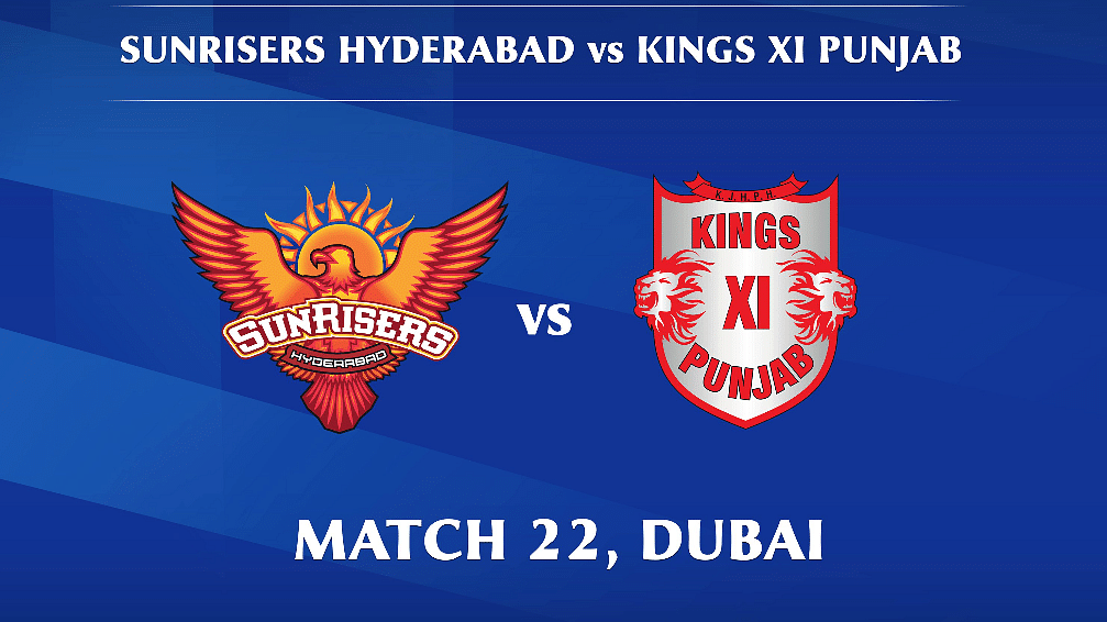 Sunrisers Hyderabad vs Kings XI Punjab LIVE: Score, Commentary for the 22nd match of Dream11 IPL