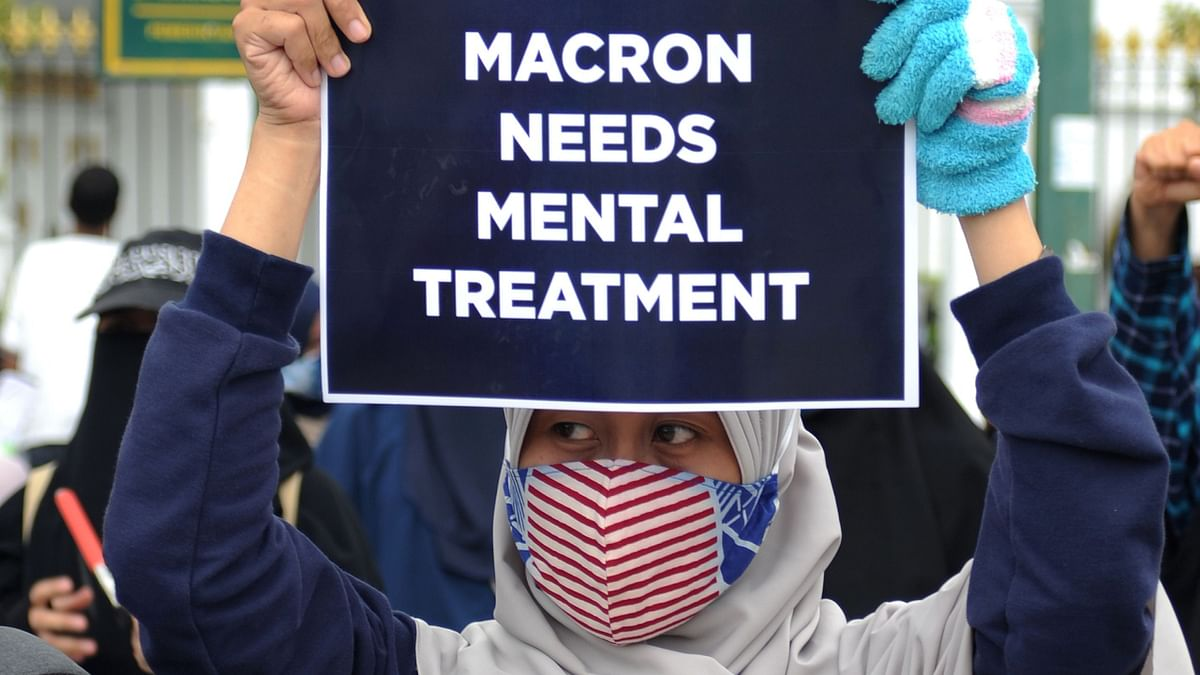 Anti-Macron fury across Muslim world