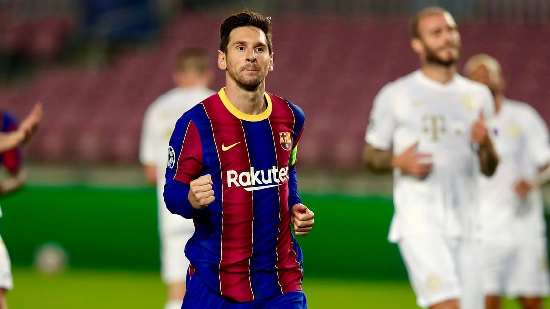 Champions League: Lionel Messi achieves new milestone as Barcelona defeat Ferencvaros