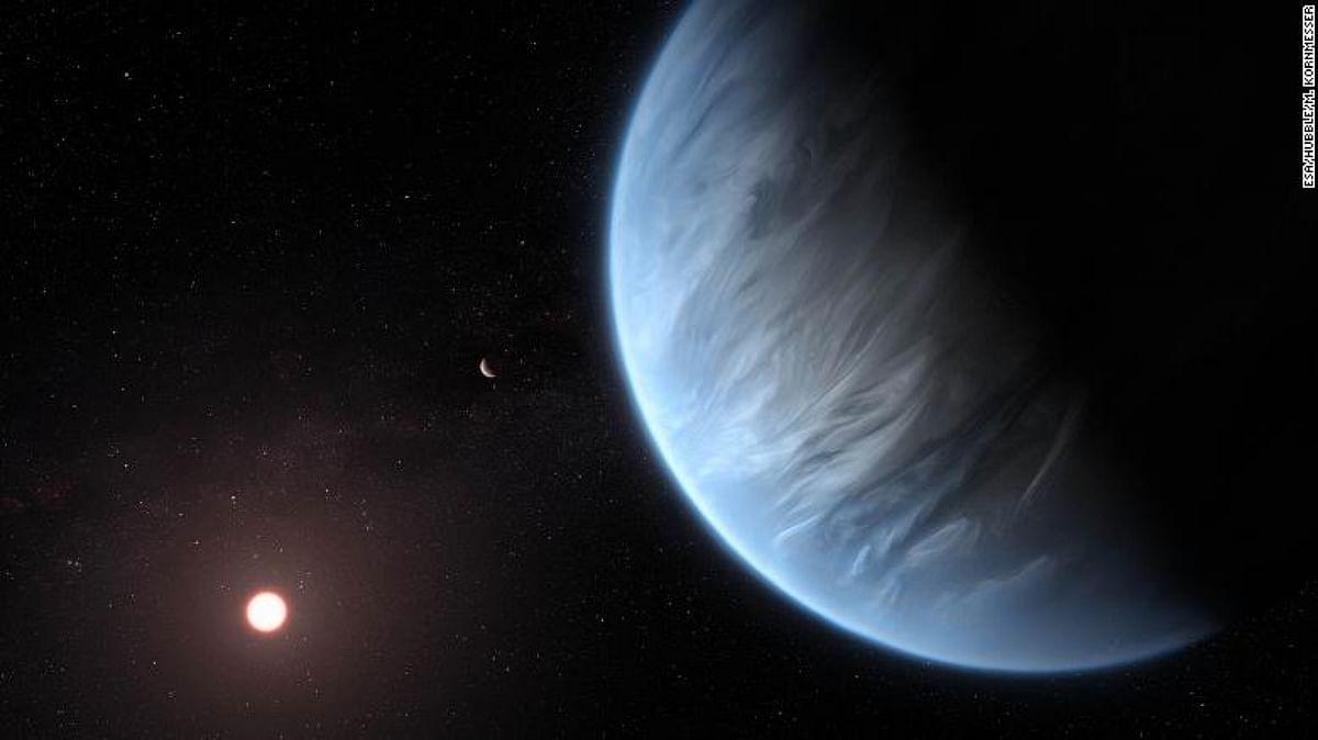 ESA's exoplanet observer reveals strange 'ultra-hot Jupiter'