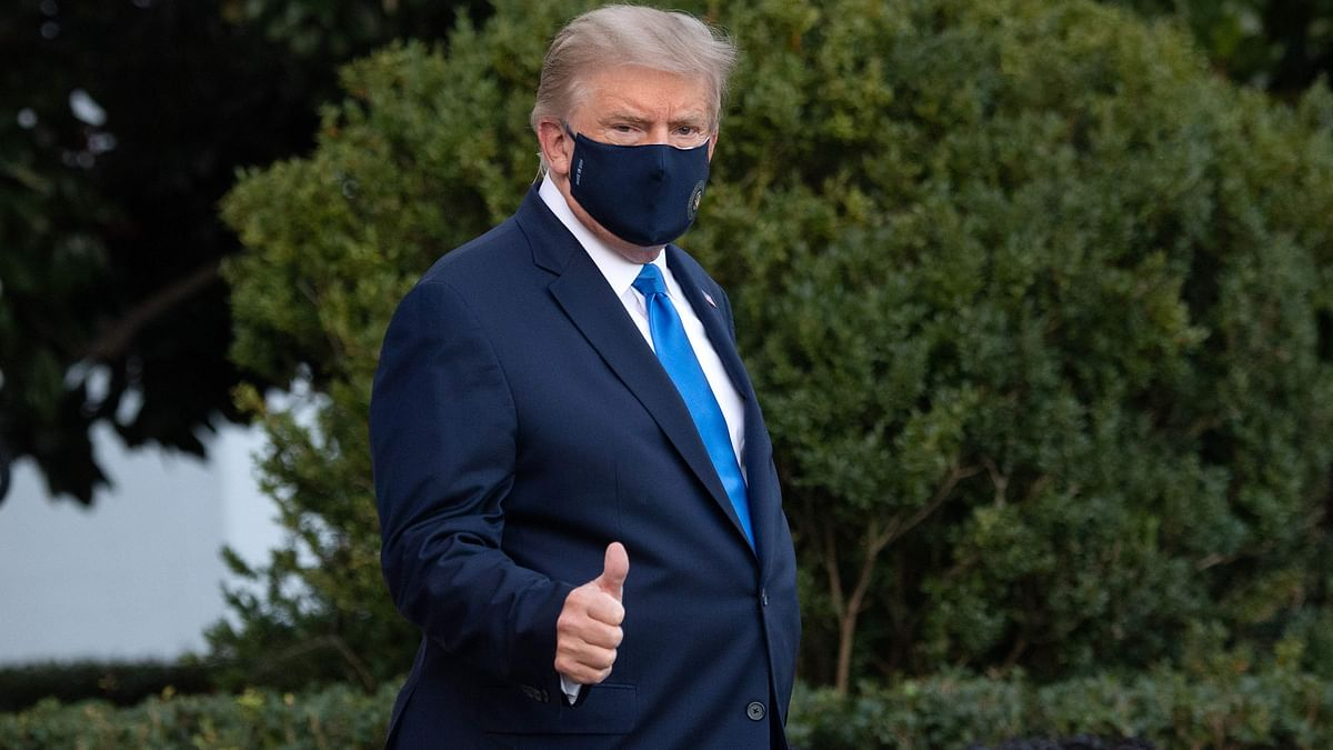 Trump undergoing Remdesivir therapy at military hospital; says 'doing well'