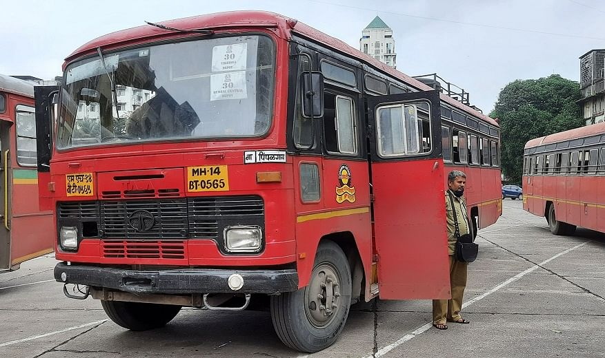 MSRTC bus runs over senior citizen in Thane