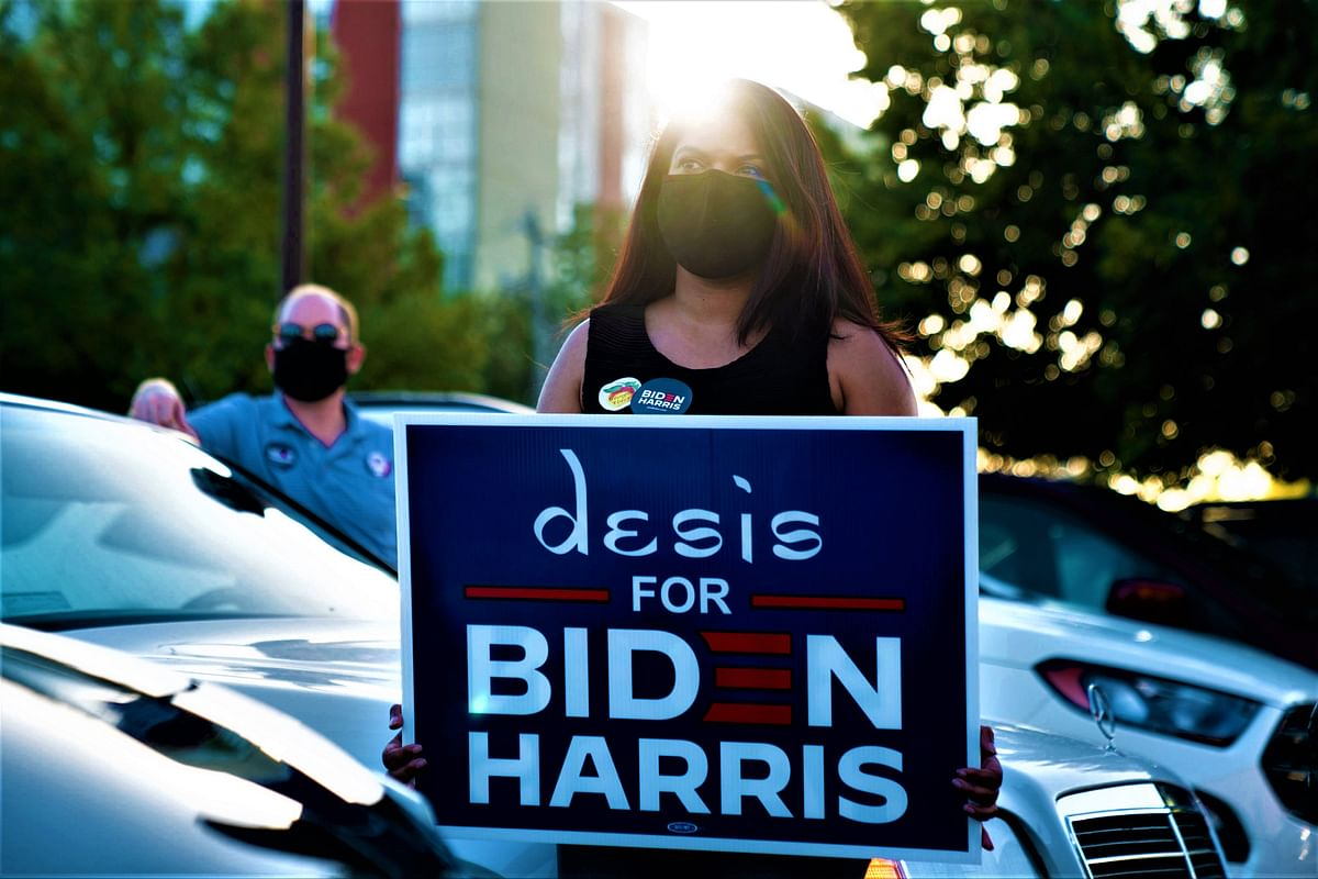 Desis love Joe Biden and Kamala Harris