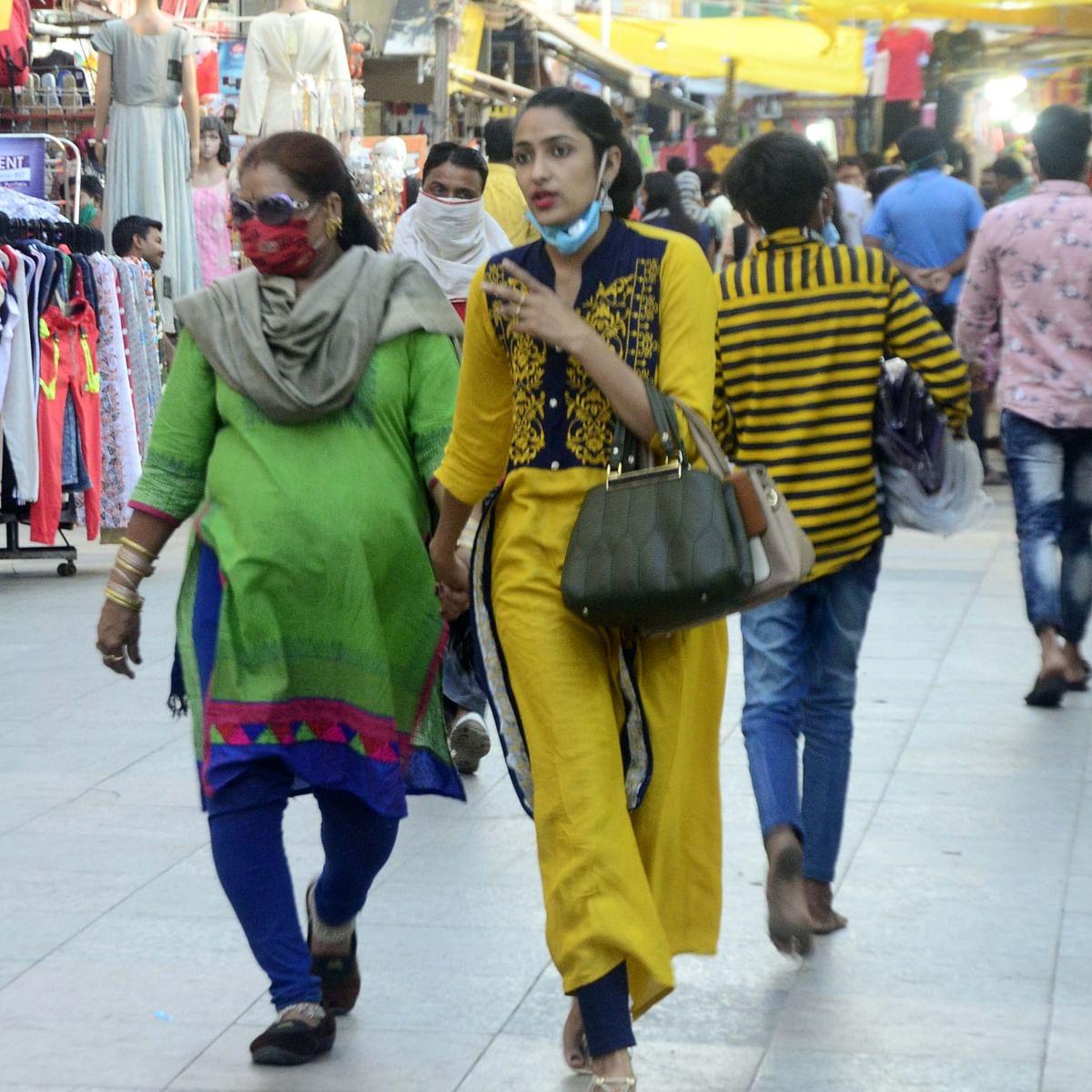 Bhopal: Traders adopt 'no-mask-no-entry' policy to keep corona at bay
