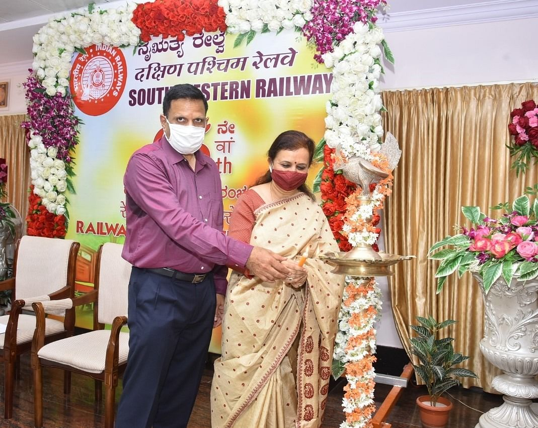 65th Railway Week celebrations at South Western Railway Headquarters
