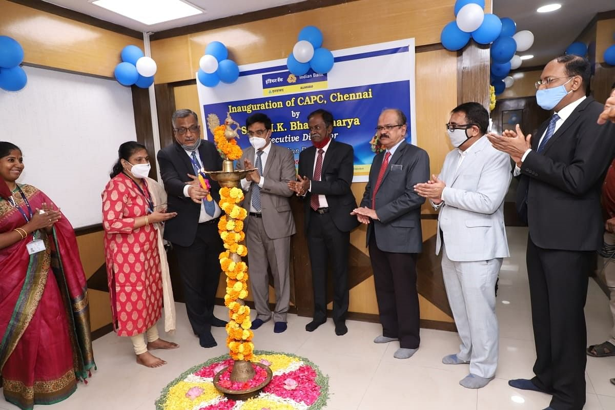 Indian Bank inaugurates customer acquisition processing centre Chennai Branch