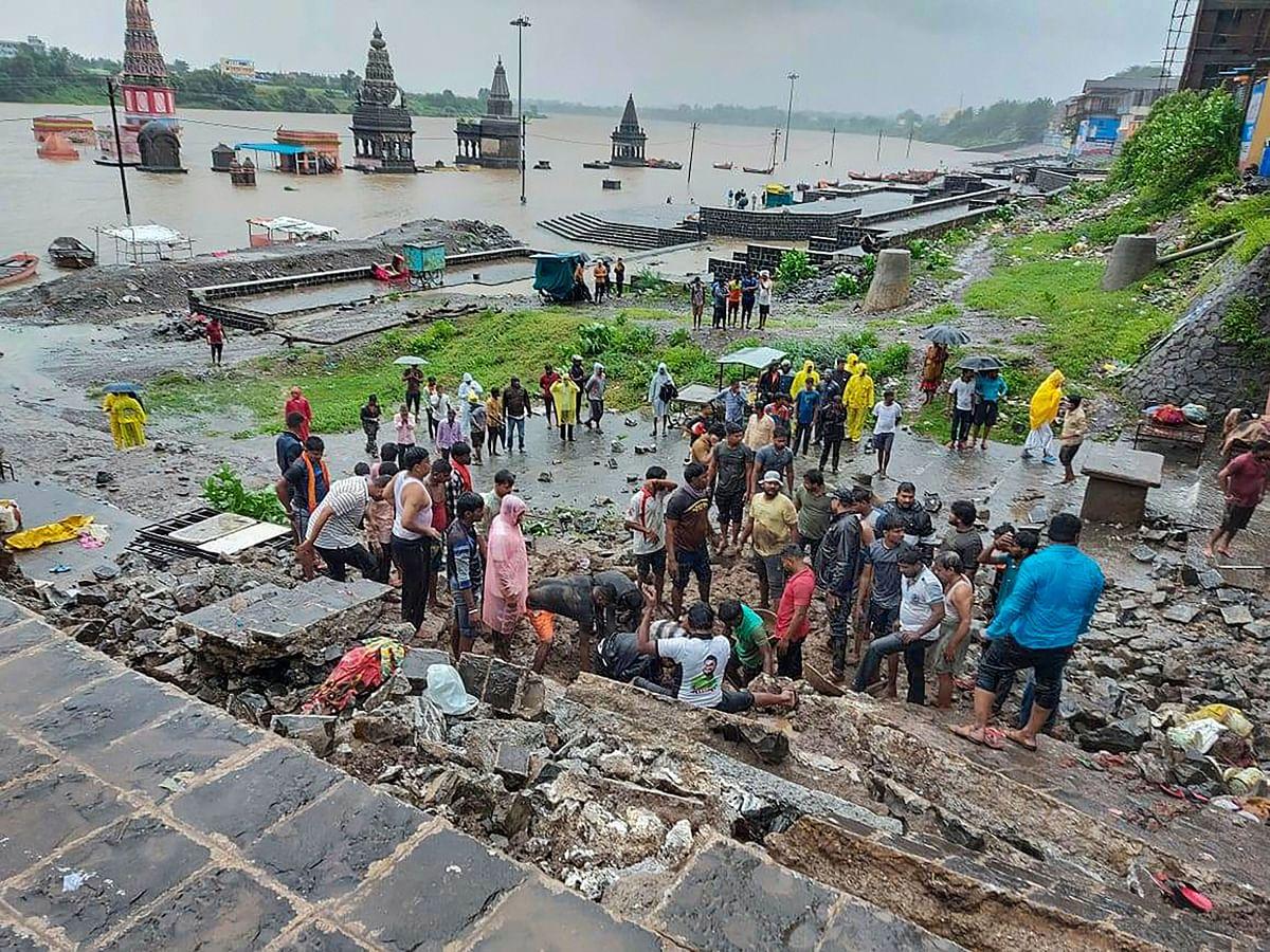 Pandharpur Wall Collapse: Maha DyCM Ajit Pawar orders probe