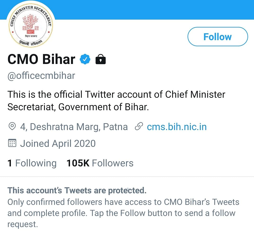 Munger Durga Immersion Violence: Twitterati slam Nitish Kumar after Bihar CMO 'protects' account