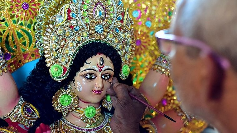 Durga Puja adjusts itself to the pandemic and its caveats
