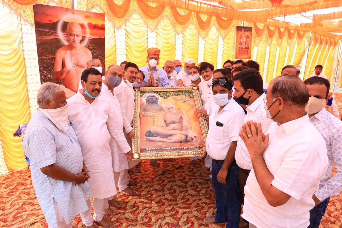 Acharya Vidyasagar Maharaj's 75th birthday: Diwali like celebration by Jain community in Indore