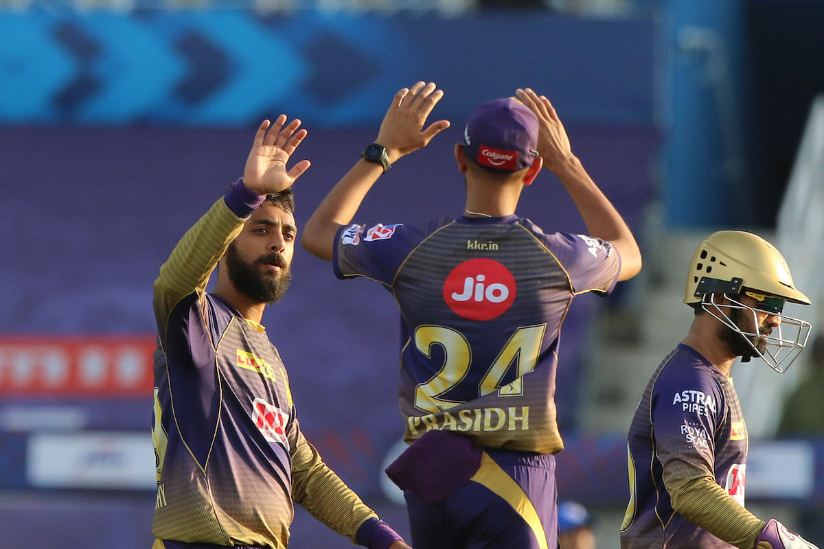 IPL 2020: Varun Chakravarthy, Nitish Rana and Sunil Narine star in KKR's win over DC