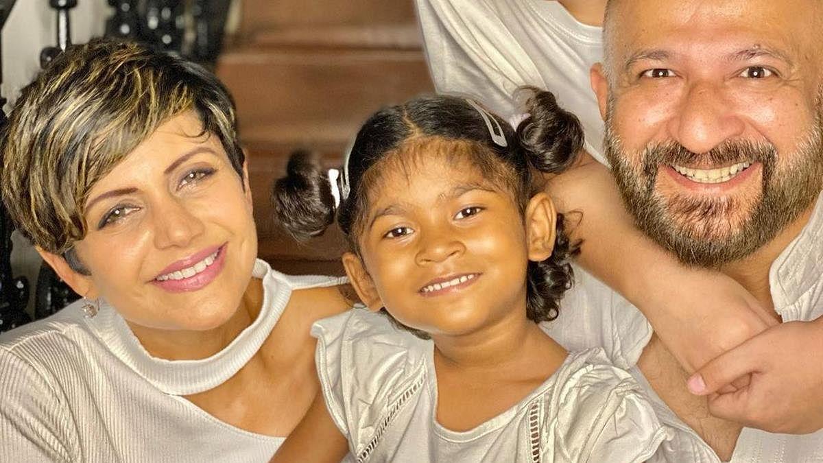 'Grateful, thankful blessed': Mandira Bedi adopts baby girl