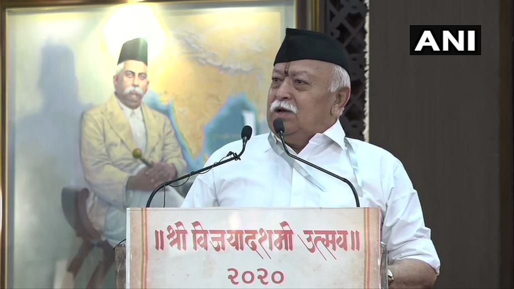 India needs to grow bigger than China in power and scope: RSS chief Mohan Bhagwat at Vijayadashami rally