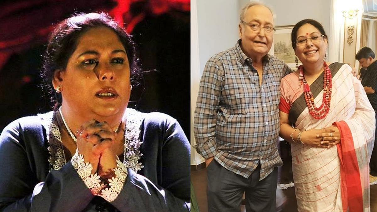 Soumitra Chatterjee's daughter 'extremely upset' after ailing actor's ICU pics leaked on social media