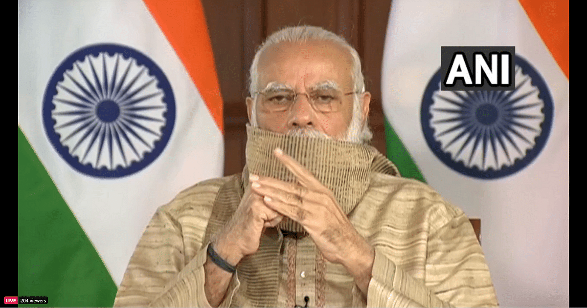 Watch: PM Modi speaks in Bengali during virtual Durga Puja address in WB