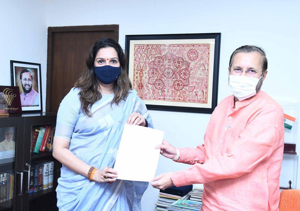 Shiv Sena MP Priyanka Chaturvedi urges Modi govt to ensure transparency in TRP system