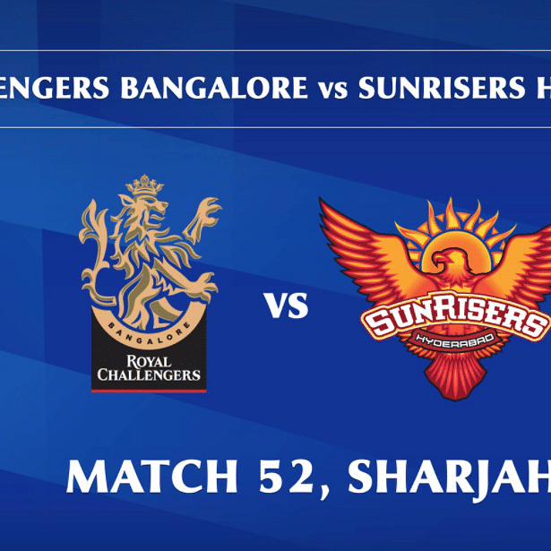 Royal Challengers Bangalore vs Sunrisers Hyderabad LIVE: Score, commentary for the 51st match of Dream11 IPL