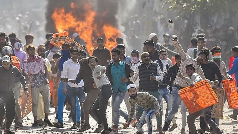 Delhi govt flags riot videos of cops; action taken, says police