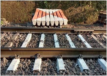 South Western Railway reuses scrap sleepers and rails in ghat section