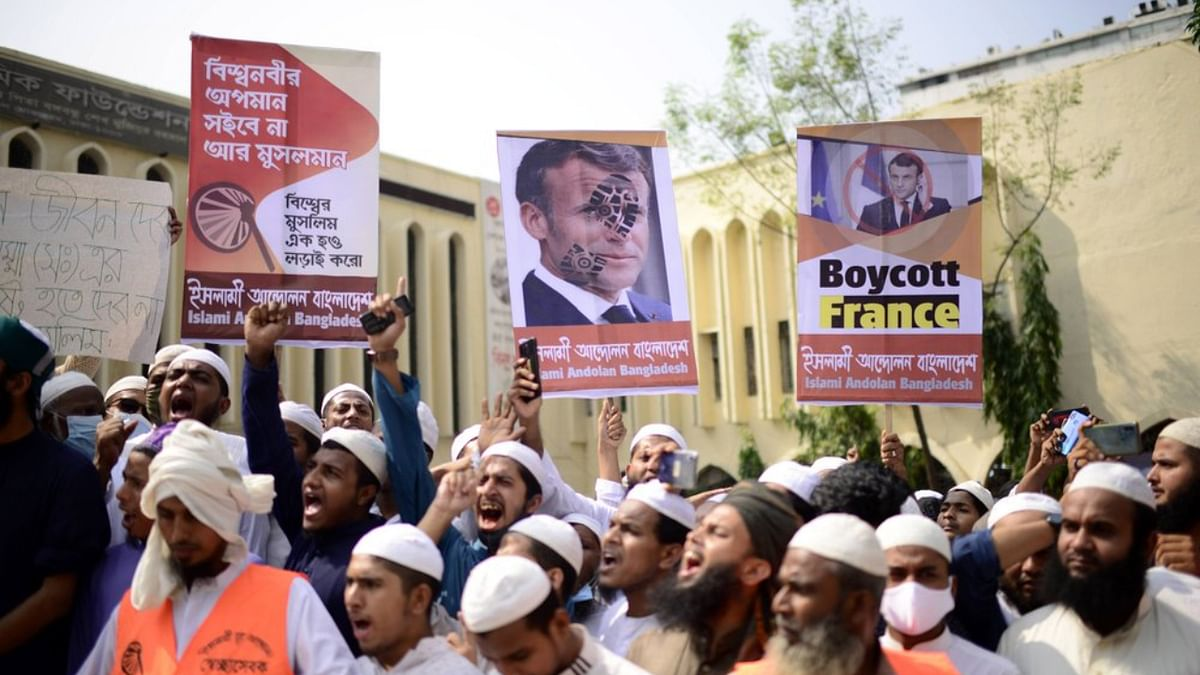 'Boycott France': Bangladeshi Muslims rally against 'Islamophobic' Macron regime