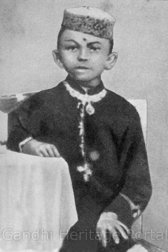 Mohandas at Porbandar, Age 7