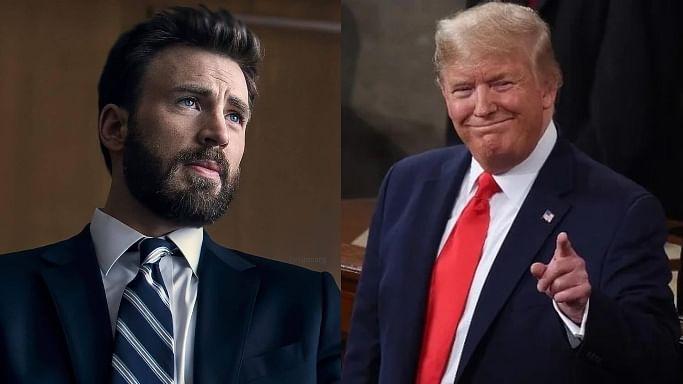 Chris Evans slams Donald Trump for saying 'don't be afraid of Covid'