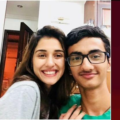 Disha Patani shares Argentinian artist's anime artwork claiming her brother Suryansh drew it; gets trolled