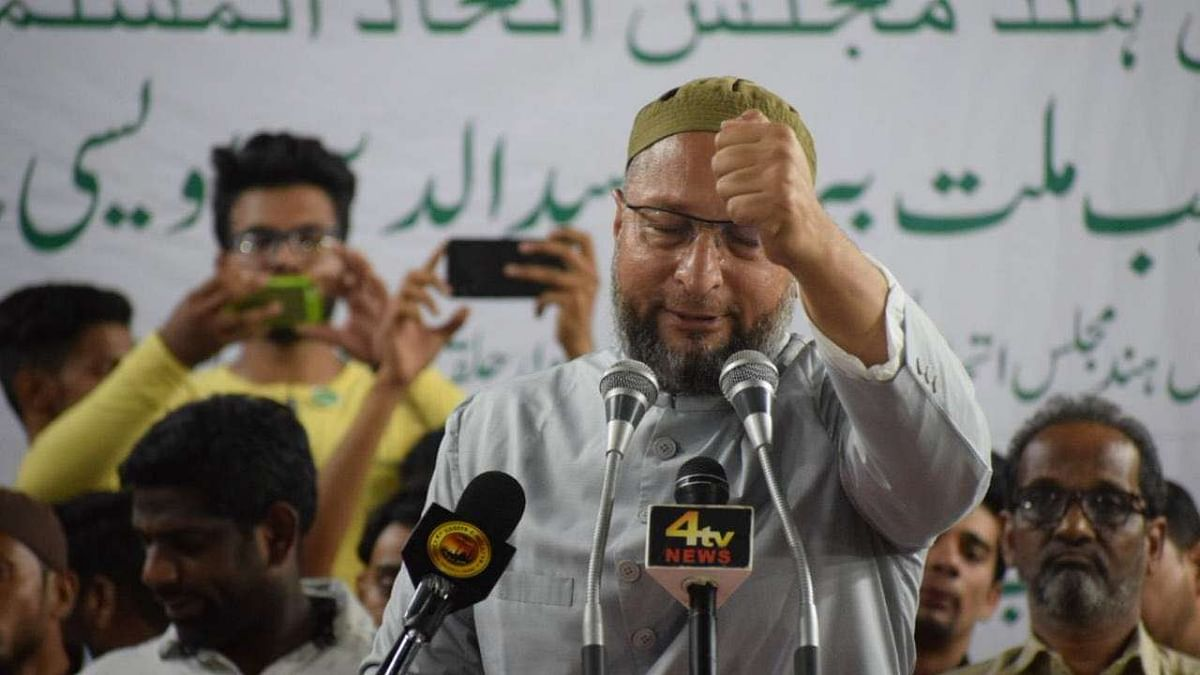 Congress, BJP in war of words amid speculation of Owaisi's entry in Rajasthan