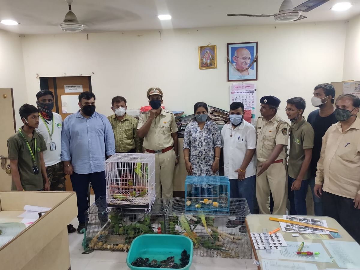 Thane: Two arrested for smuggling different species of animals
