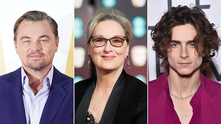 Meryl Streep, Leonardo DiCaprio, Timothee Chalamet among others join comedy 'Don't Look Up'