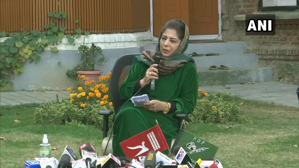 Not BJP's manifesto, country will run on the Constitution: Mehbooba Mufti
