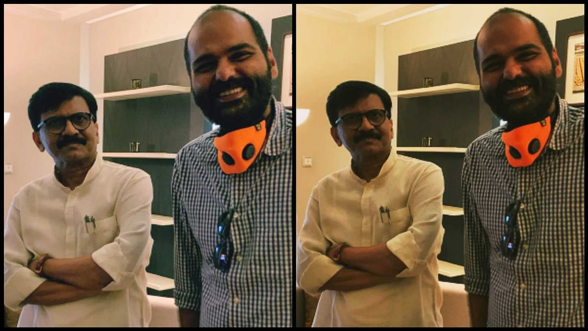 Sanjay Raut on 'Shut up ya Kunal'? Stand up comic Kunal Kamra shares pic with Shiv Sena MP
