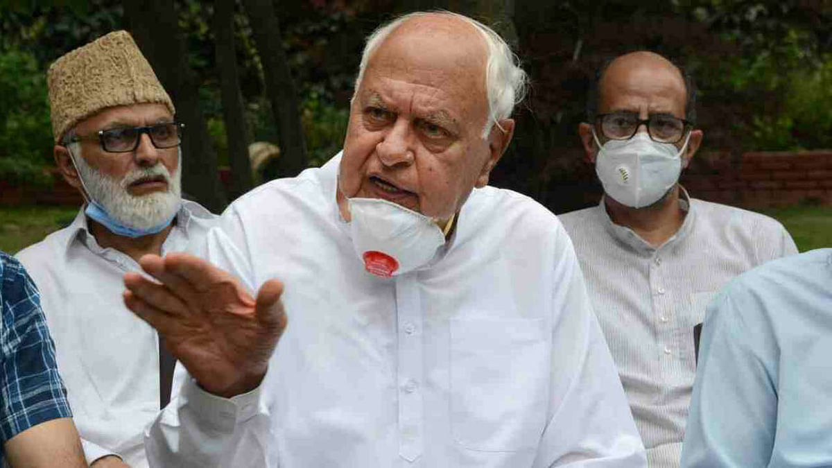 'New low in curtailment of fundamental rights': PAGD alleges Farooq Abdullah not being allowed to leave house