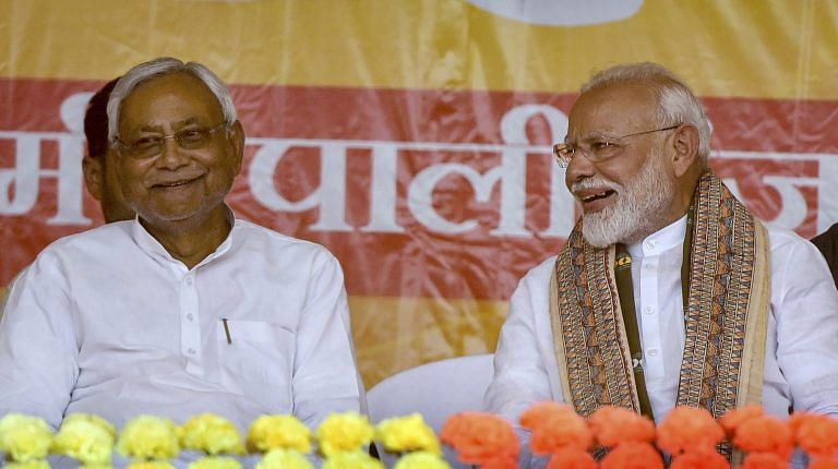 Modi elbows Nitish out of BJP posters