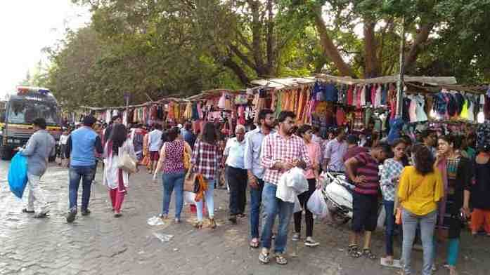 A file photo of Linking Road, Bandra (W).