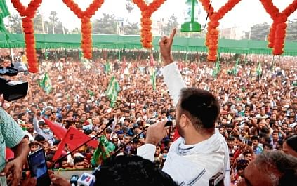 Bihar Assembly election: Tejashwi goes all guns blazing