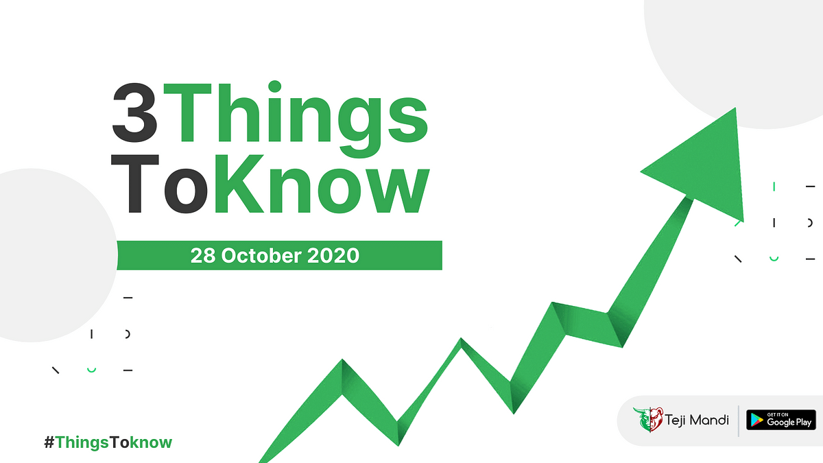 Teji Mandi: Three things investors should know on October 28th, 2020