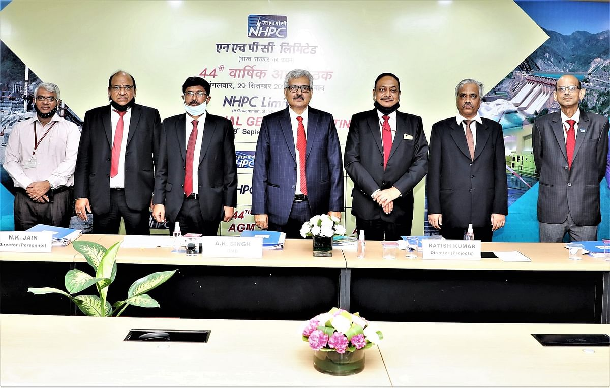 NHPC hosts 44th Annual General Meeting