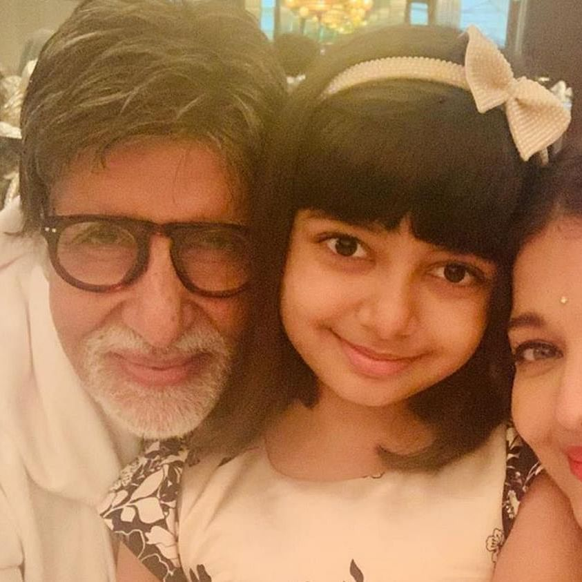 'Love you always Dadaji': Aaradhya's birthday wish for grandfather Amitabh Bachchan