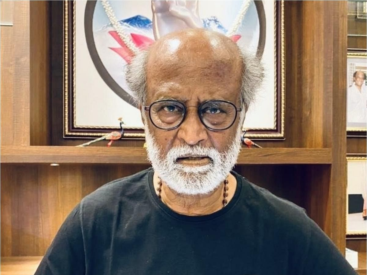With Covid-19 around, Rajinikanth hints at no show in politics