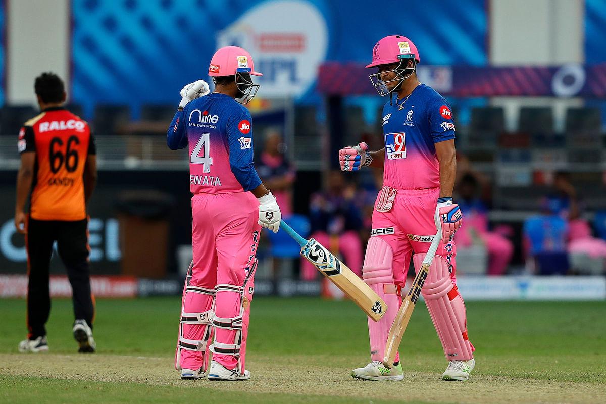 IPL 2020: Late onslaught by Rahul Tewatia, Riyan Parag steer Rajasthan to five-wicket win over SRH